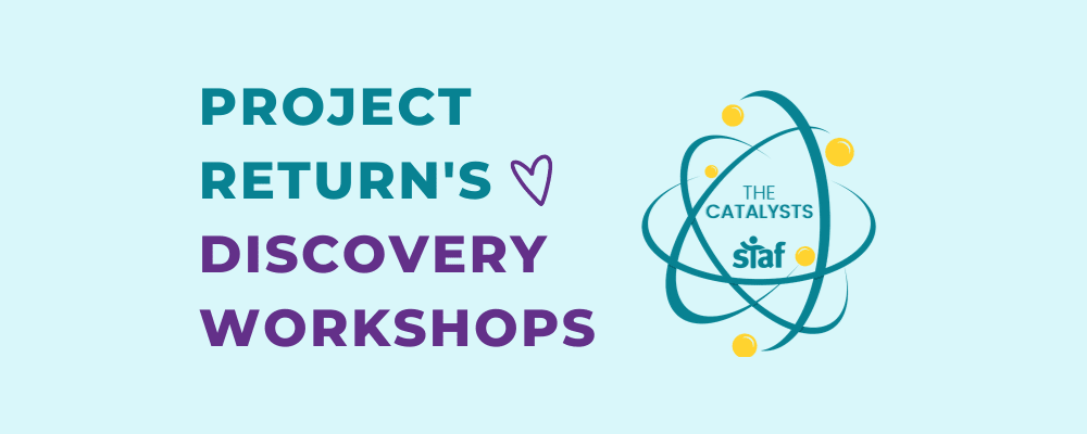 Project Return's Discovery Workshops