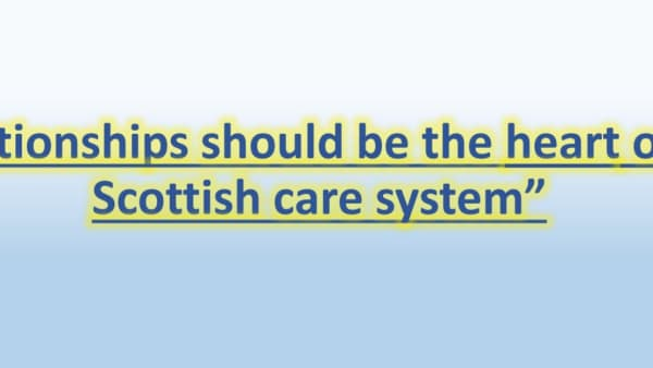 What does a really good care system look like?