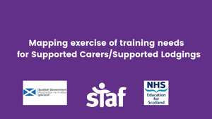 Support for the National Trauma Training programme: Mapping exercise of training needs for Supported Carers/Supported Lodgings
